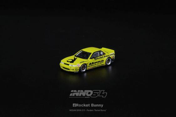Inno64-Nissan-Silvia-S13-V2-Rocket-Bunny-Pandem-Light-Yellow-002