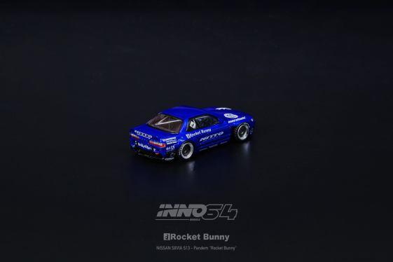 Inno64-Nissan-Silvia-S13-V2-Rocket-Bunny-Pandem-Metallic-Blue-003