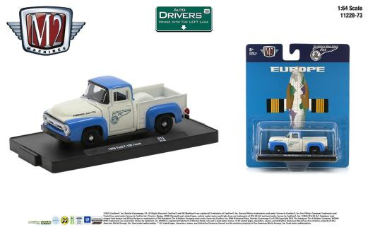 M2-Machines-Drivers-Release-73-1956-Ford-F-100-Truck-Pan-Am