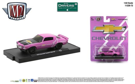 M2-Machines-Drivers-Release-73-1970-Chevrolet-Camaro-Z28-RS
