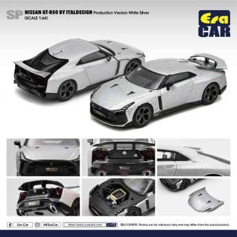 Era-Car-Nissan-GT-R50-By-Italdesign-Pink-Greenish-White-Silver