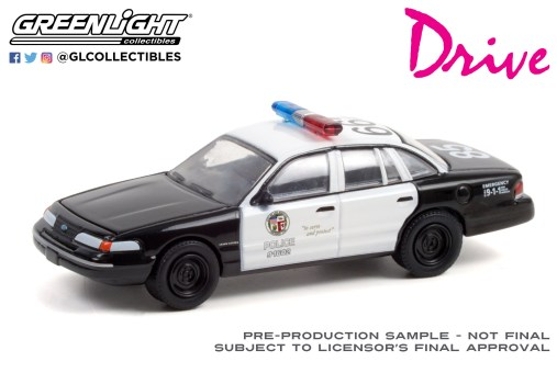 GreenLight-Collectibles-Hollywood-33-1992-Ford-Crown-Victoria-Police-Interceptor