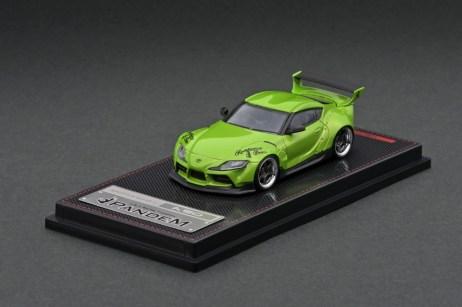 Ignition-Model-Pandem-Supra-A90-Green-Metallic-001
