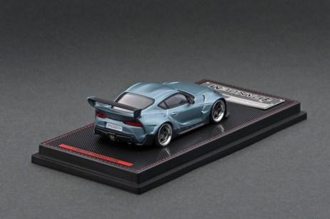 Ignition-Model-Pandem-Supra-A90-Matte-Blue-Gray-Metallic-002