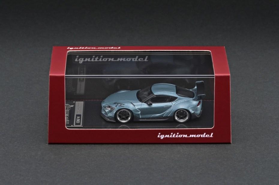 Ignition-Model-Pandem-Supra-A90-Matte-Blue-Gray-Metallic-003