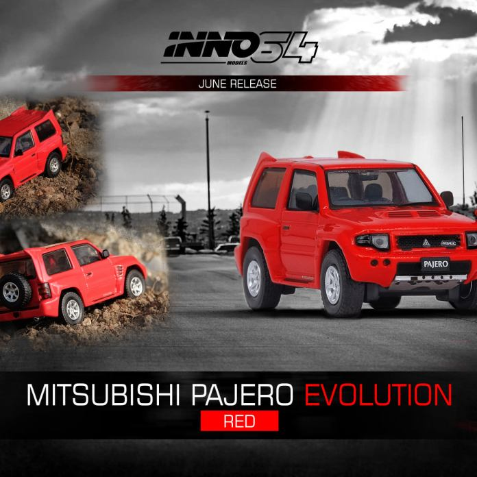 Inno64-Mitsubishi-Pajero-Evolution-red-001