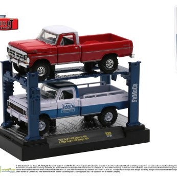 M2-Machines-Auto-Lifts-release-20-1969-Ford-F-100-Ranger-4x4-1972-Ford-F-250-Explorer-4x4