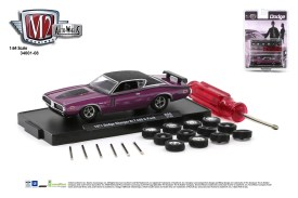 M2-Machines-Auto-Wheels-Release-8-1971-Dodge-Charger-RT-440-6-Pack