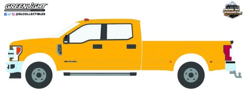 GreenLight-Collectibles-Dually-Drivers-Series-9-2019-Ford-F-350-Dually-School-Bus-Yellow