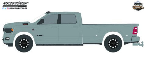 GreenLight-Collectibles-Dually-Drivers-Series-9-2021-RAM-3500-Dually-Limited-Night-Edition-Billet-Silver