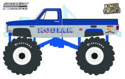 GreenLight-Collectibles-Kings-of-Crunch-Series-10-Kodiak-1987-GMC-Sierra-Classic-Monster-Truck