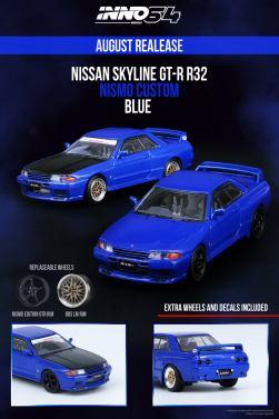 Inno64-Nissan-Skyline-GT-R-R32-Blue-001