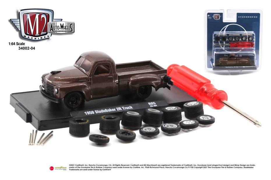 M2-Machines-Auto-Wheels-series-4-OReilly-Auto-Parts-1950-Studebaker-2R-Truck