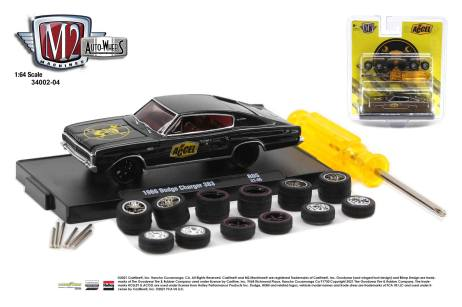 M2-Machines-Auto-Wheels-series-4-OReilly-Auto-Parts-1966-Dodge-Charger-383