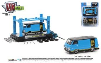 M2-Machines-Modelm-Kit-Release-39-1967-Dodge-A100-Panel-Van