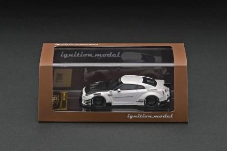 Ignition-Model-Resin-LB-Works-Nissan-GT-R-R35-type-2-White-003