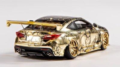 YM-Model-Gold-Lexus-RCF-Pandem-004