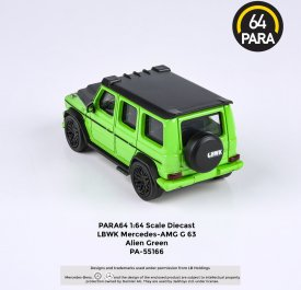 Para64-Mercedes-G63-Liberty-Walk-Alien-Green-004