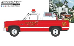 GreenLight-Collectibles-Norman-Rockwell-Series-4-1981-Chevrolet-K20-Scottsdale