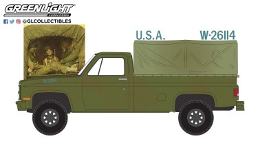 GreenLight-Collectibles-Norman-Rockwell-Series-4-1984-Chevrolet-M1008