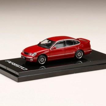 Hobby-Japan-Minicar-Project-Toyota-Aristo-V300-Vertex-Custom-red-1