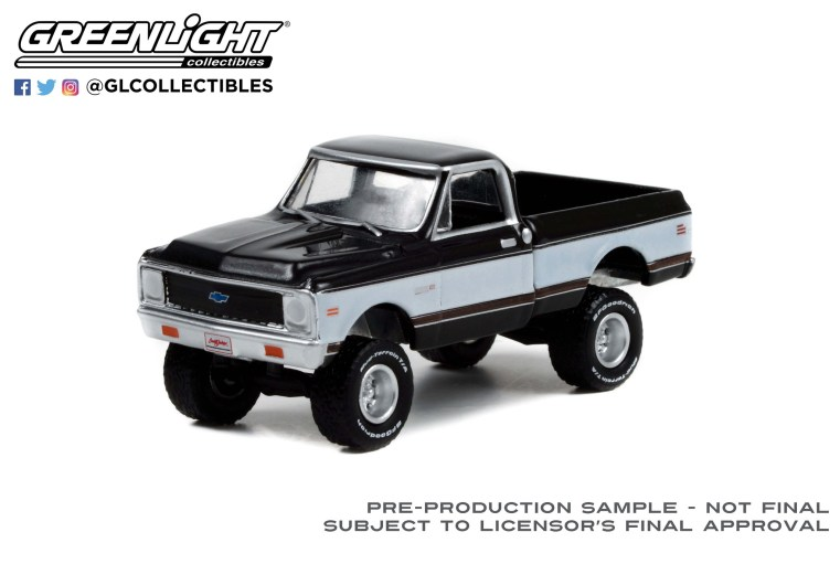 GreenLight-Collectibles-Barrett-Jackson-Series-9-1972-Chevrolet-K10-4X4-Pickup