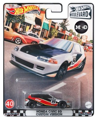 Hot-Wheels-Boulevard-Mix-H-Honda-Civic-EG6-Custom-Version