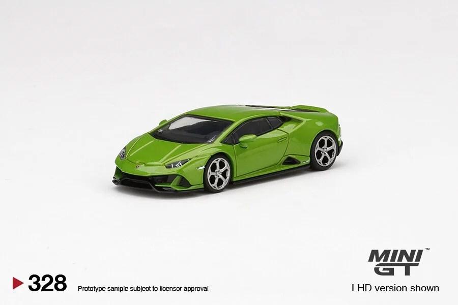 Mini-GT-Lamborghini-Huracan-EVO-Verde-Mantis-1