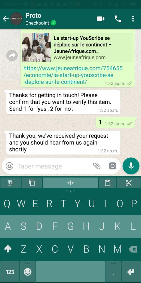 vérification fake news whatsapp inde