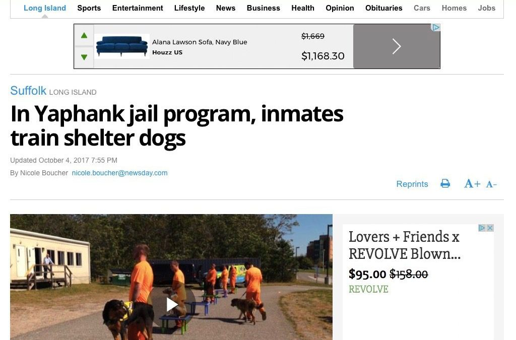 Newsday Helps Launch Pet Care Franchise's Dog Training Program