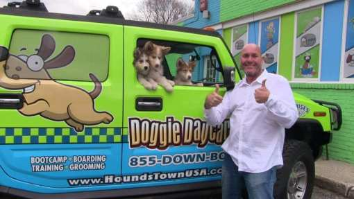 Pet-Care Franchise, Hounds Town USA, Moving West!
