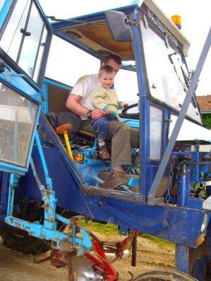 Hugues Clovis tracteur