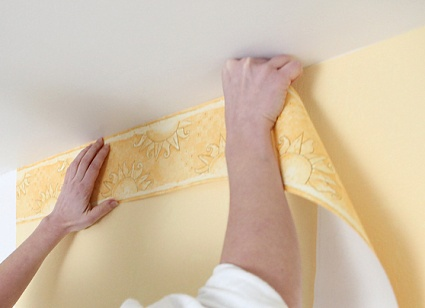 Hanging A Wallpaper Border The Practical House Painting