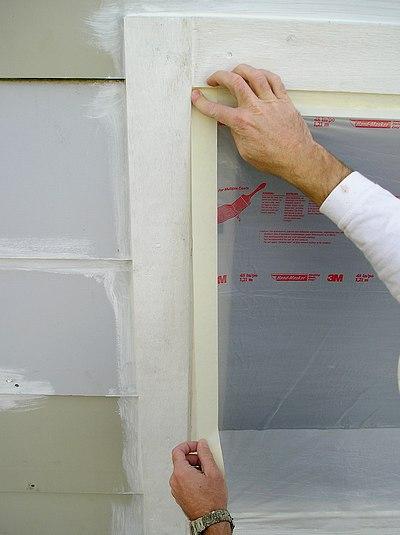 Exterior Paint Masking