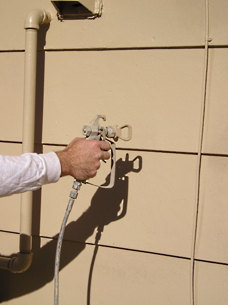 Using A Proper Airless Spraying Method The House