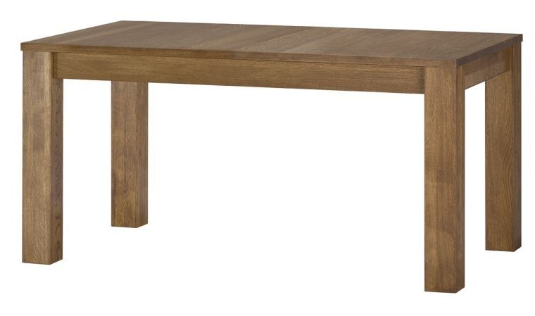 table avec rallonges finition chene huile 160 250 loft