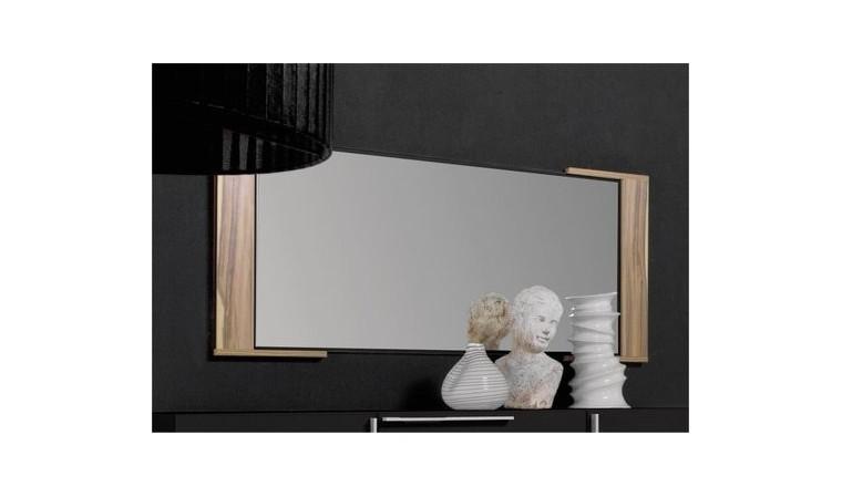 miroir mural 115 cm chambre black