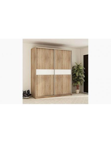armoire dressing 2 portes coulissantes porto