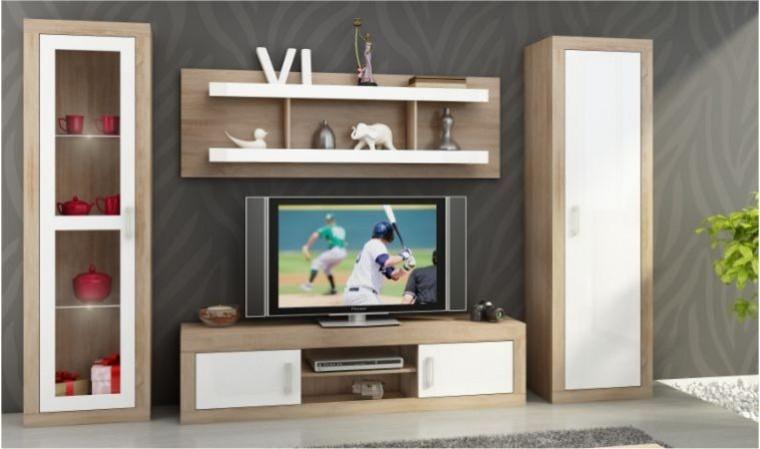 ensemble meuble tv mural notti d