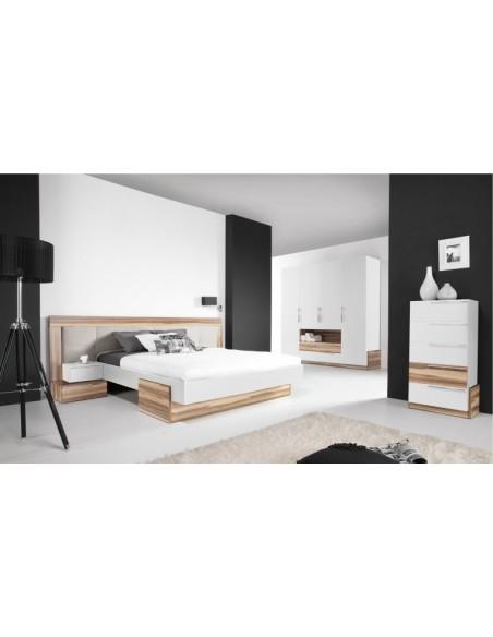 lit armoire white