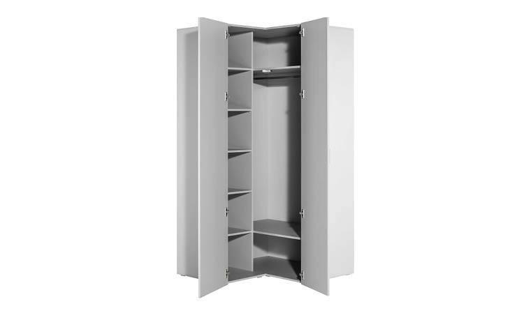 armoire d angle blanche grande capacite 4you
