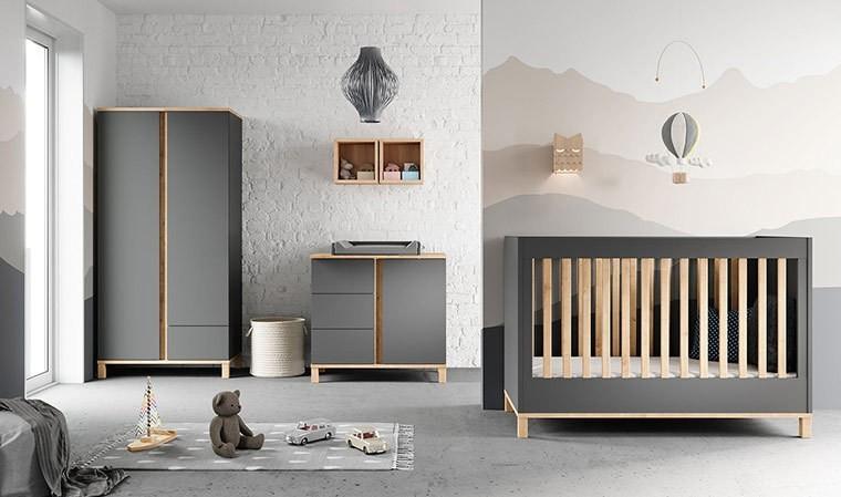 chambre bebe design complete 60 x 120 cm altitude