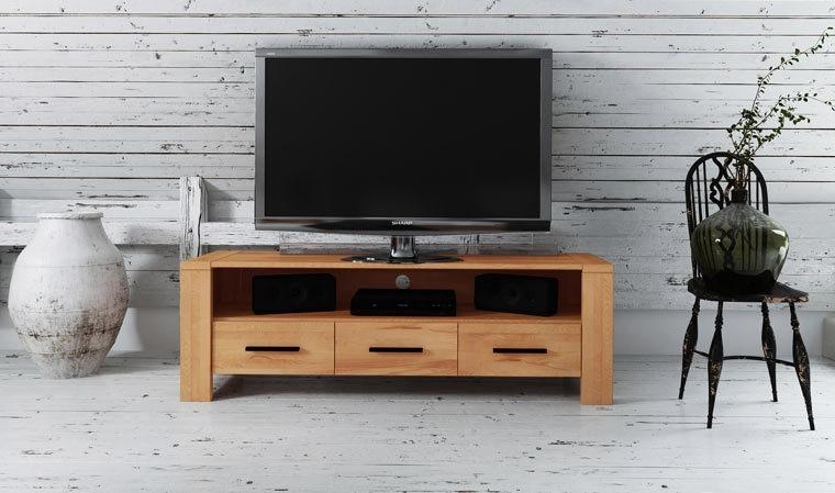 meuble de tele en bois massif warehouse