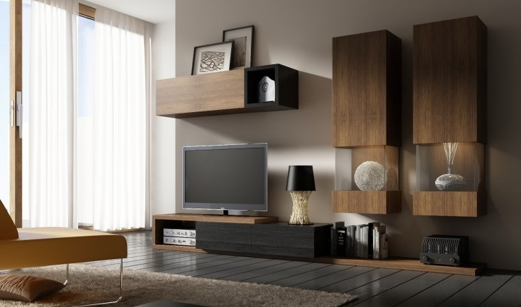meuble tv design notte b