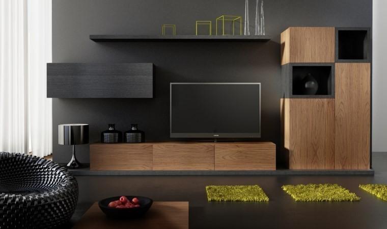 ensemble meuble tv design buffet notte