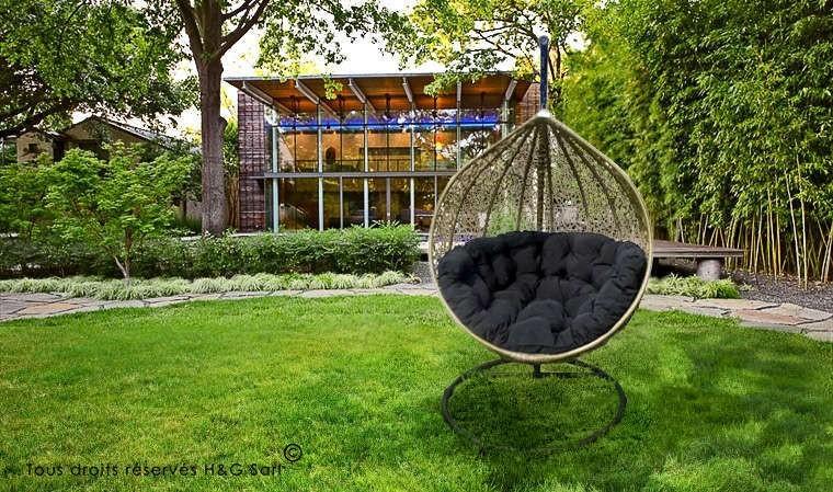 Balancelle Suspendue De Jardin Design Haut De Gamme