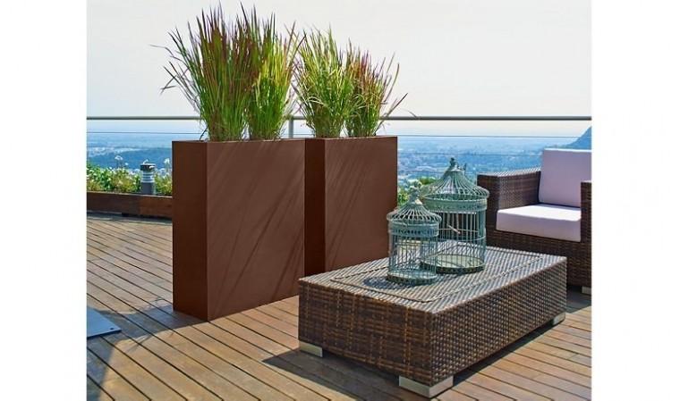 Jardinires Kube High Tower Pot Pour Interieur Ou Pot