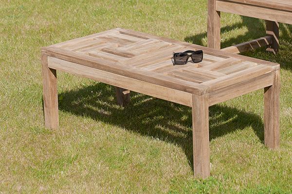 table basse de jardin en teck borneo