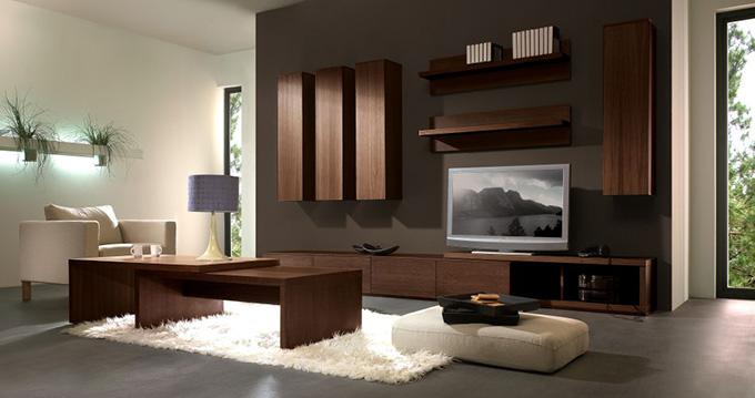 meuble tv bas miles a couleur chene