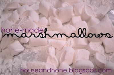 Hone-made Marshmallows!